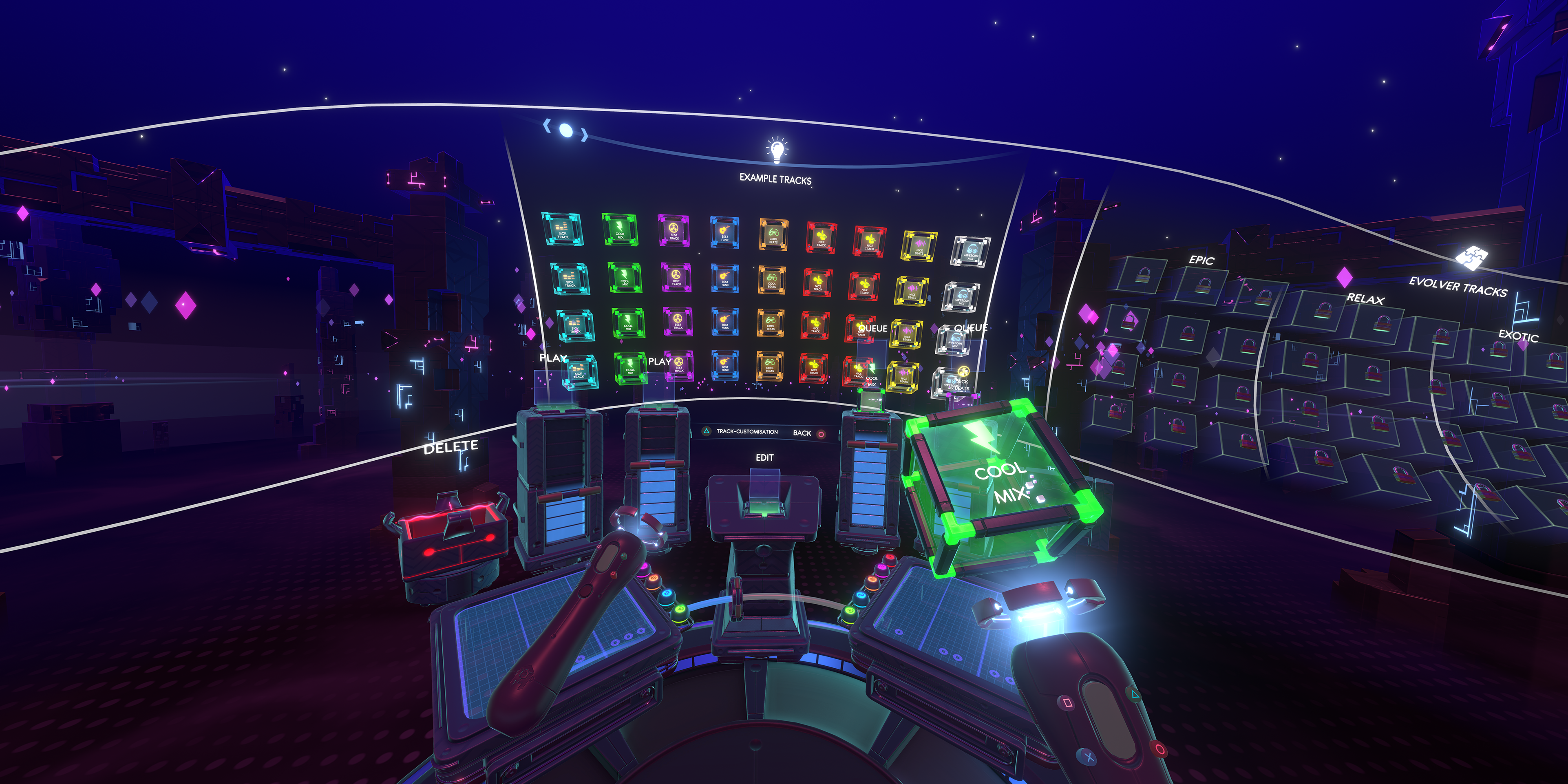 29256405137 c2766d4720 o - Erstellt euren eigenen Beat in der virtuellen Realität mit Track Lab – ab heute für PS VR erhältlich