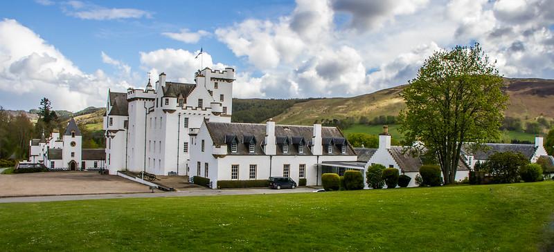 Blair Castle, Blair Atholl, Scotland, U.K.