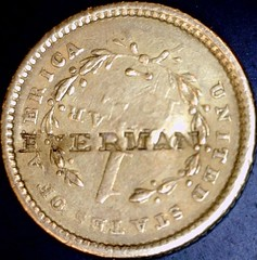 Everman, 1851 $1 obv