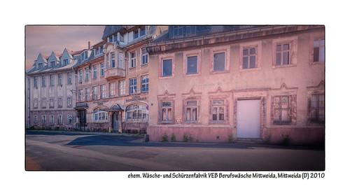 ehem.-Wäsche--und-Schürzenfabrik-VEB-Berufswäsche-Mittweida,-Mittweida-(D)-2010