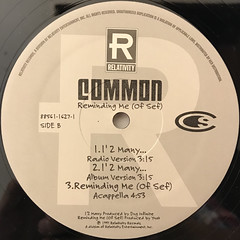 COMMON:REMINDING ME(OF SEF)(LABEL SIDE-B)