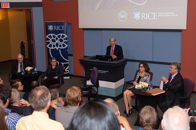 Science leaders discussed future of scientific research with Rice students