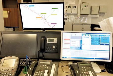 Мониторинг системы позиционирования