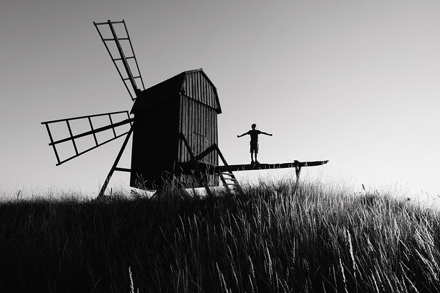 Windmills of your mind.