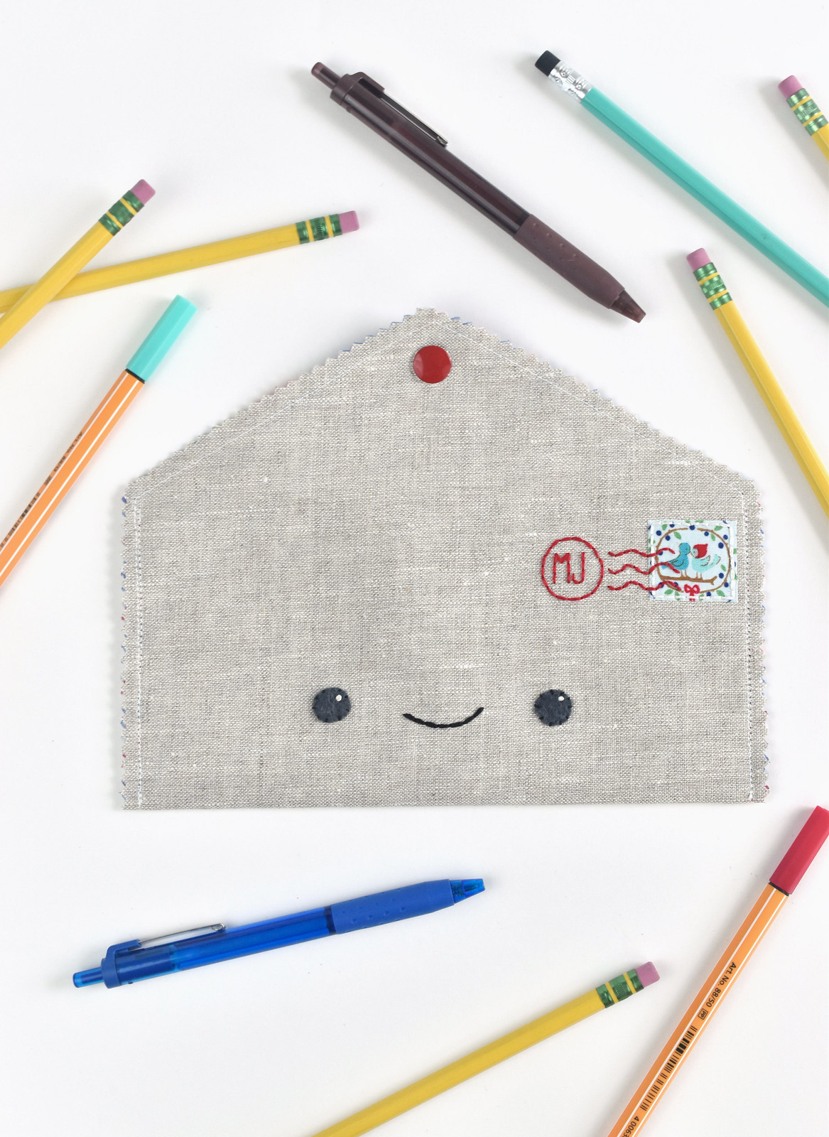 Happy Mail Pencil Case