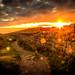 Hadrians Wall sunset