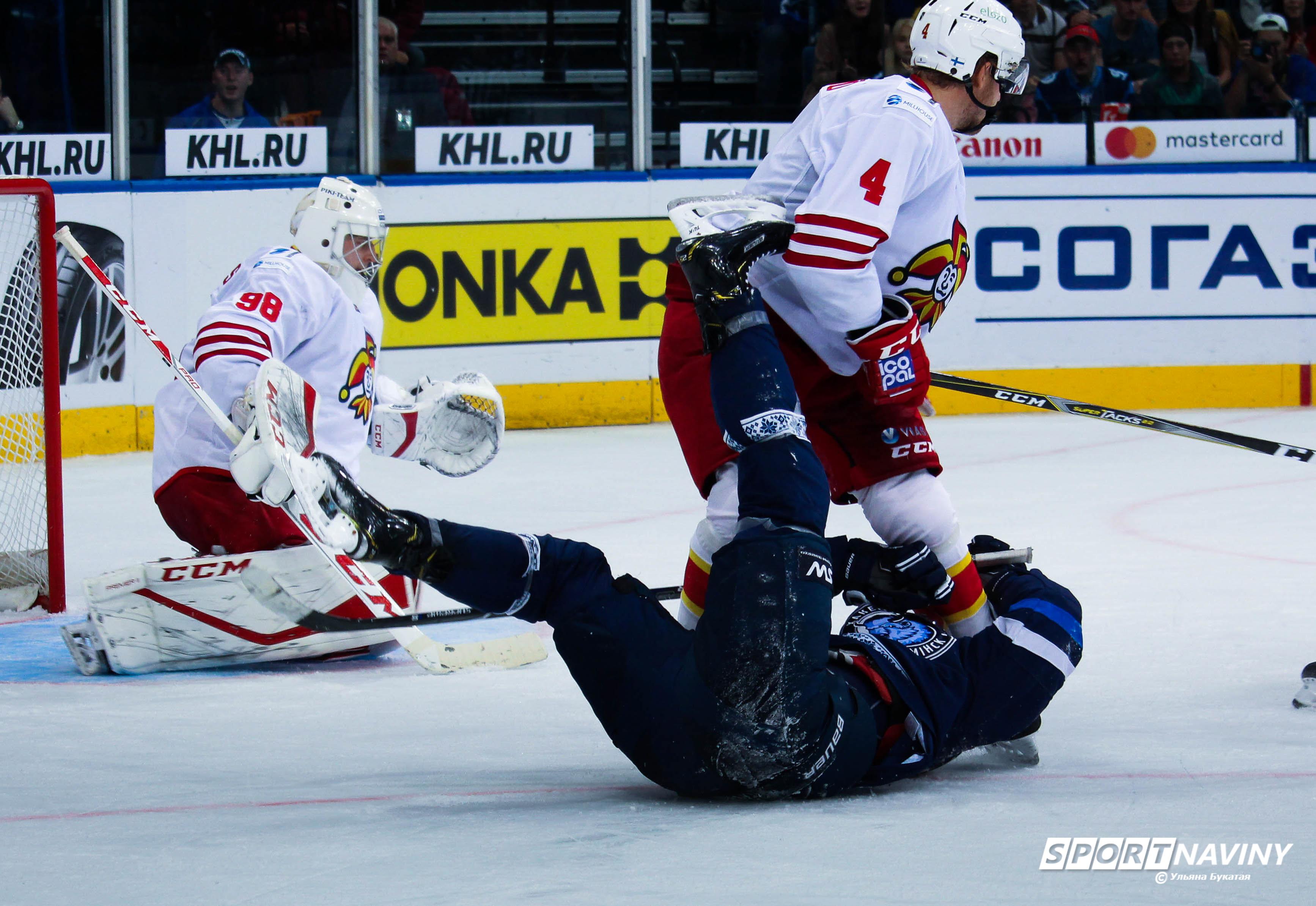 HC Dinamo-Minsk 1:4 HC Yokerit. 10/09/2018