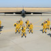 U.S. Air Force U-2S Dragon Lady Intelligence, Surveillance and Reconnaissance Aircraft instructor pilots from the 1st Reconnaissance Squadron pose for a photo in front of a two seat U-2S August 17, 2012 at Beale Air Force Base, Calif. Less people have piloted the U-2 than have earned Super Bowl rings. (U.S. Air Force photo by Mr. John Schwab/Released)