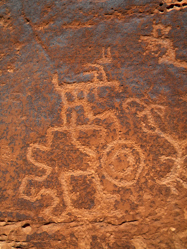 Petroglyphs in Mesa Verde National Park, Colorado