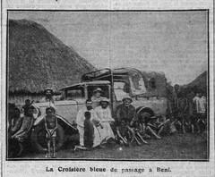 La croisiere bleue (foto publicada en La Croix en diciembre de 1931)