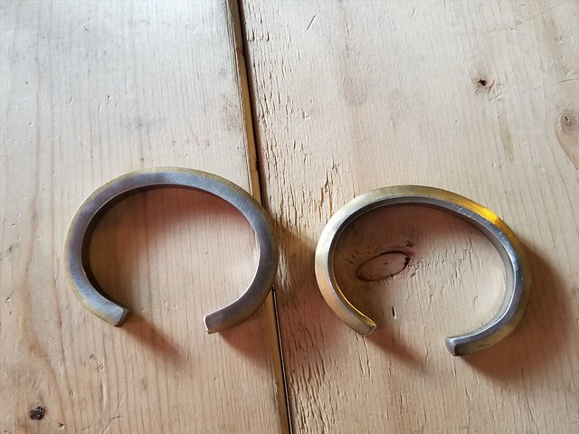 BRASS & STAINLESS BANGLE