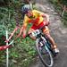 Spanish rider Carlos Coloma Nicolas - descending the