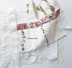sampling paper and cloth.