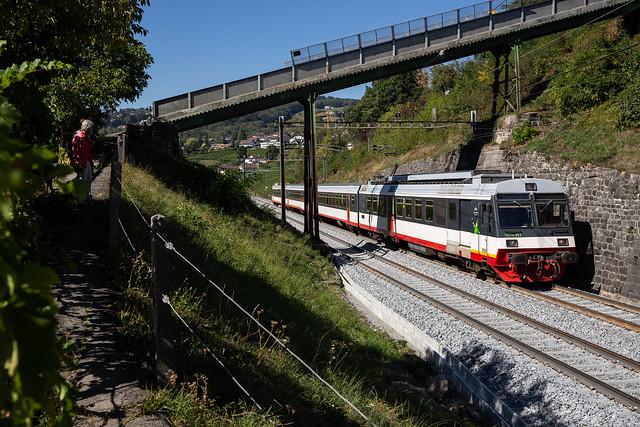 DSF RBDe 567 (ex TransN) à Bossière
