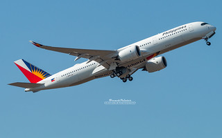 Airbus A350-900 Philippine Airlines RP-C3504