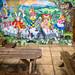 Mural at the Madruth Inn, Cornworthy
