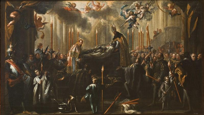 Miguel Jacinto Meléndez - El entierro del conde de Orgaz