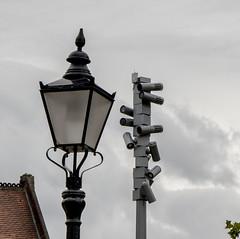 Lamps juxtaposition