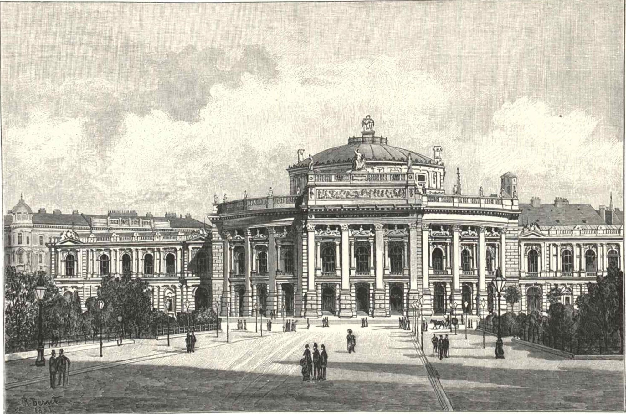 New Wien Burgtheater at the Ring
