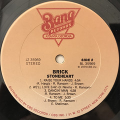 BRICK:STONEHEART(LABEL SIDE-B)