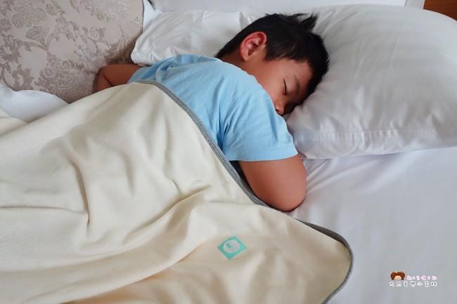 轉頭囍有機棉呼吸抗螨防蚊毯 (4)