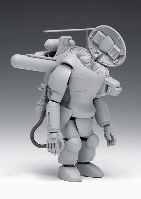 WAVE 《Ma.K》「S.A.F.S.R 宇宙型態 PROWLER」 1/20比例尺寸 組裝模型作品!S.A.F.S.R SPACE TYPE プラウラー