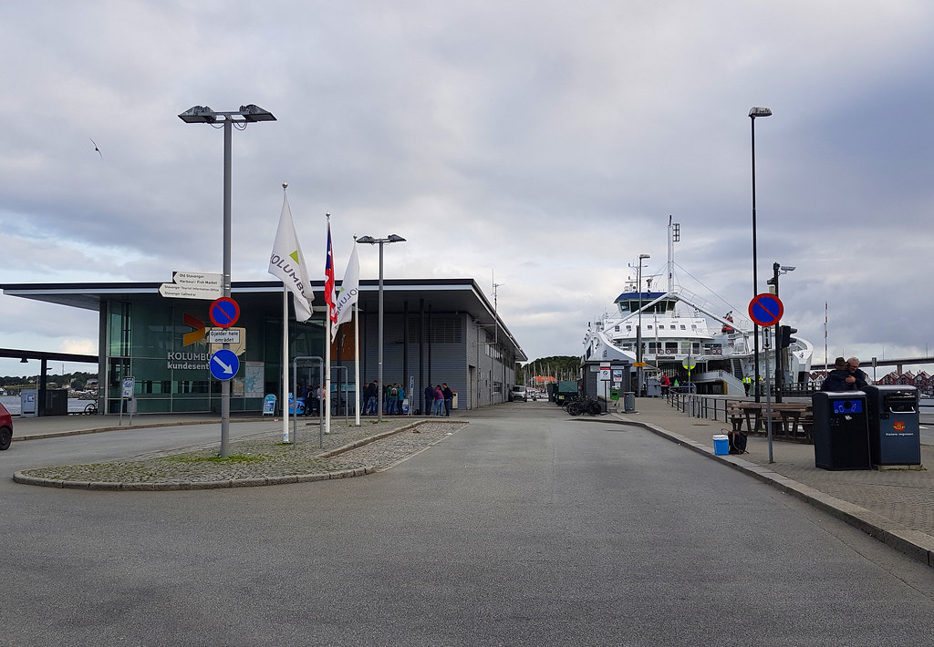 Przystań promowa w Stavanger
