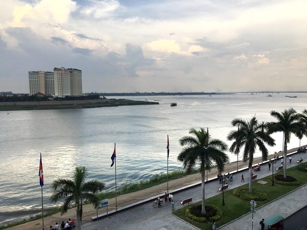 Río de Nom Pen, Camboya