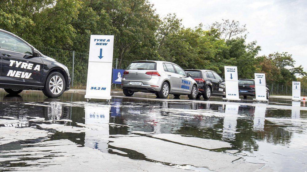 Michelin тестирање истрошени гуми 5