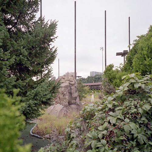 Abandoned Minigolf Course