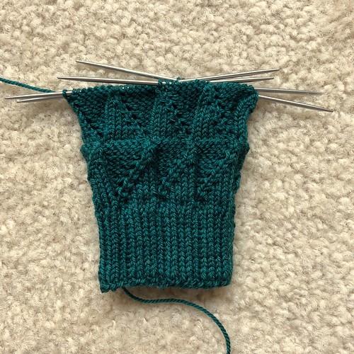 Green Dragon socks