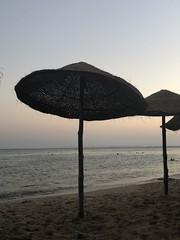 Peaceful #peace #beach #sunset #tunisia