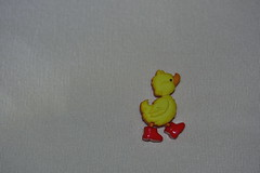 Little yellow duck by Dreaming of the Sea