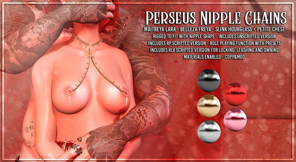 AsteroidBox. Perseus Nipple Chains @ RLD