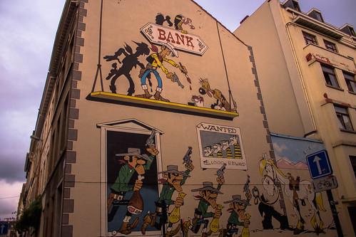 Mural Lucky Luke