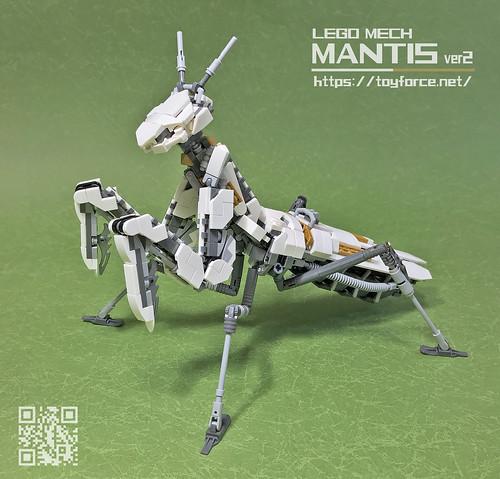 LEGO Mech  Mantis ver2-01T