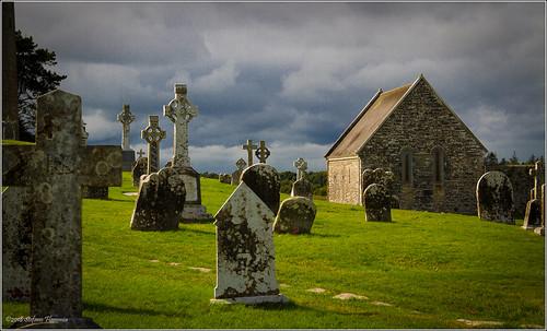 clonmacnoise rovine antico irlanda ireland monastero