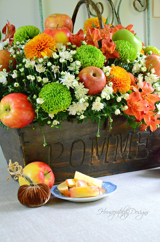Fall Apple Centerpiece-Housepitality Designs-3