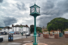 Clock Tower, Minehead, Somerset, UK.