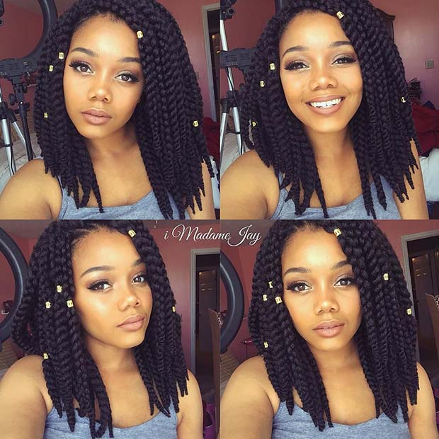 Stunning Medium Box Braids Try in 2019 You Will love it 3