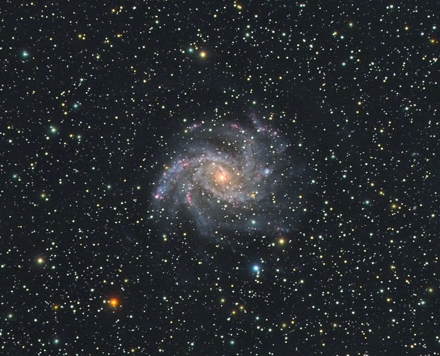 NGC 6946: The Fireworks Galaxy