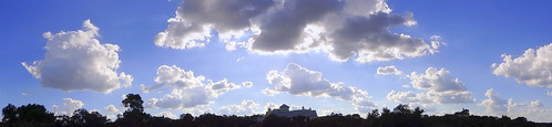 texas sky centraltexas hillcountry clouds panorama blue balcony view afternoon ambientlight skyline treeline landscape horizon vista summer