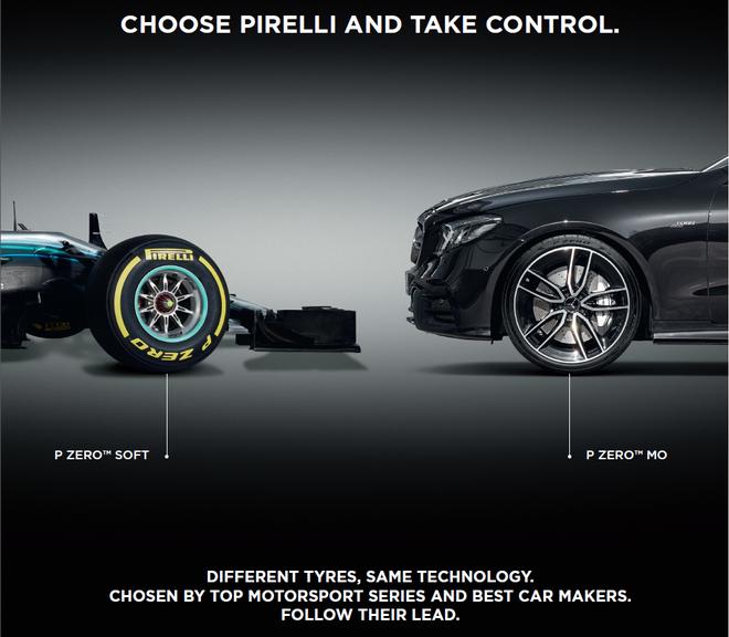 憑藉PIRELLI(倍耐力)從賽車運動中獲得的豐富經驗,將賽車技術轉移至公路用胎,使每一款原配車型的性能達到完美契合