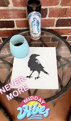 """The Raven"" ―Edgar Allan Poe, 1845"