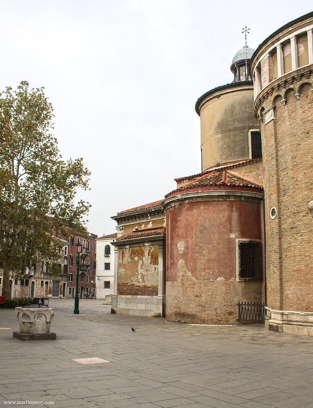 Chiesa di San Giacomo dall'Orio, Santa Croce Venezia