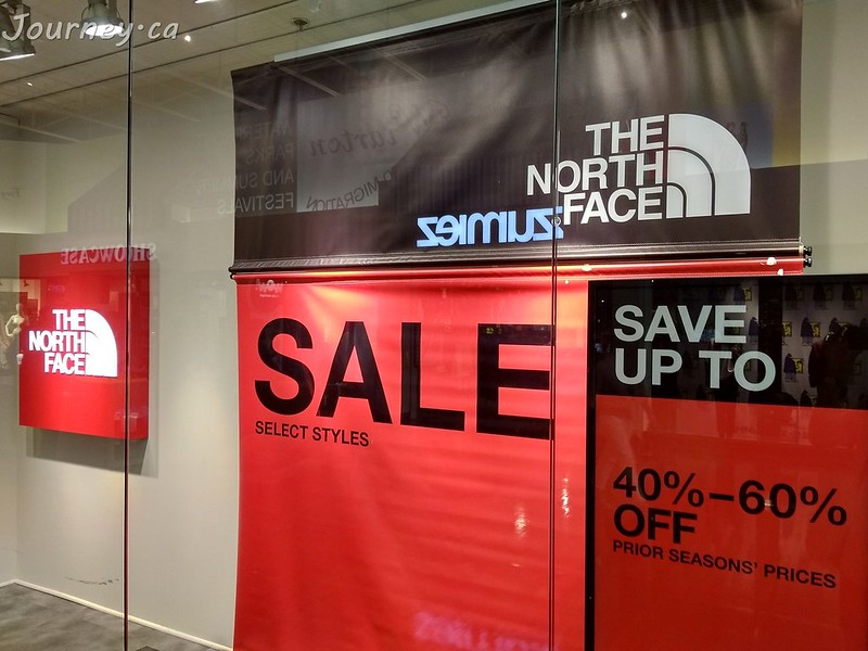 The North Face 40%-60% OFF