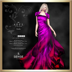 (AD) -AZUL- Gizela [SENSE]