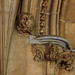 Lincoln, Lincolnshire, cathedral, cloister passage, capital