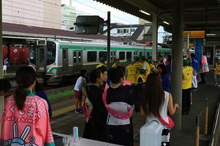 今日のトランスイート四季島 - いざ、福島駅へ