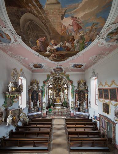 Pfarrkirche St.Wendelin - Eyershausen (Unterfranken)